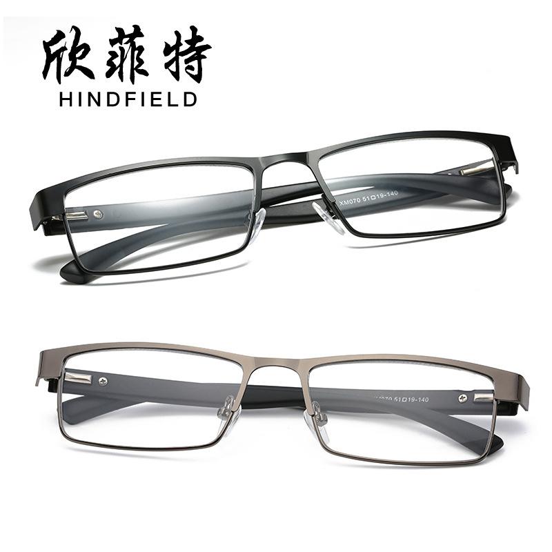 新款老花镜老年人女士眼镜 老年时尚阅读老花镜金属光学镜架070