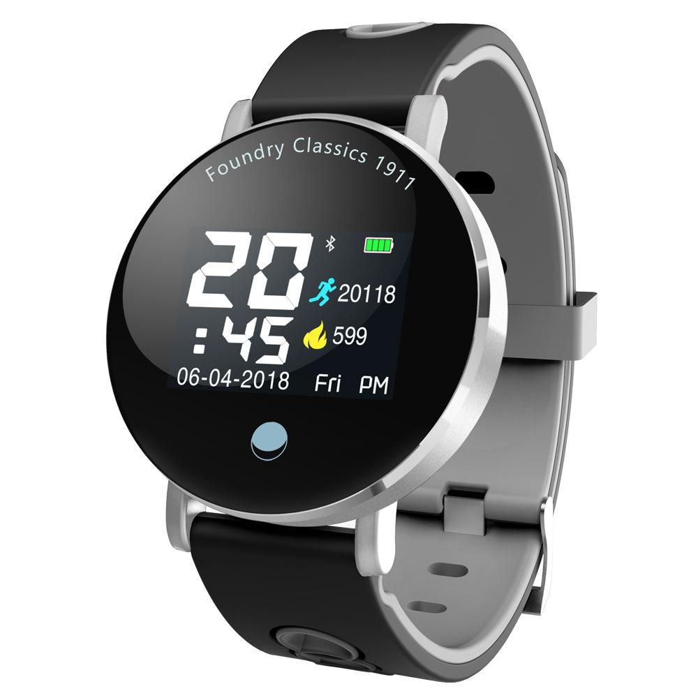 智能手环Y6Plus心率血压防水智能提醒天气跨境电商爆款运动手环