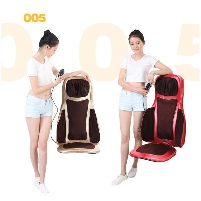 港德按摩靠垫 颈部按摩器按摩垫背部腰部按摩器全身电动按摩椅垫