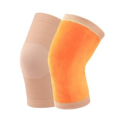 冬季自发热护膝保暖关节老寒腿老人防寒加绒护腿套磁疗四季男女士