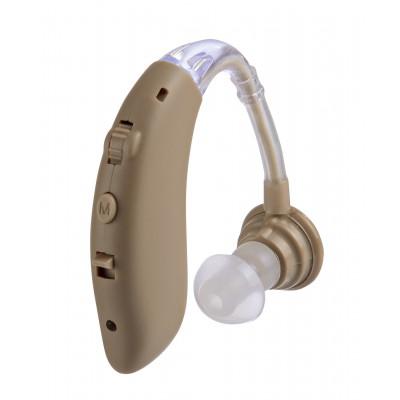 老人助听器耳背式充电集音器声音放大器hearing amplifier